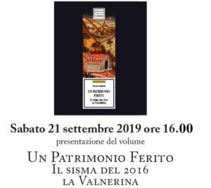 """INVITO - Presentazione del libro """"Un Patrimonio Ferito"""" @ FonteAntica Agriturismo"""