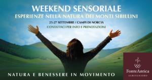 Weekend sensoriale @ FonteAntica Agriturismo
